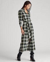 Bavlněné kostkované šaty