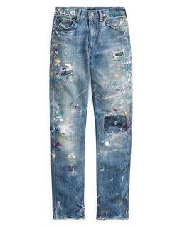 Jeansy z wysoką talią