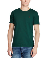 Zielony t-shirt Custom Slim Fit