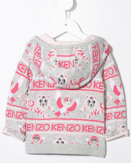 Kolorowa bluza z kapturem 0-3 lat
