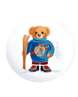Talerz deserowy Haven Ski Bear