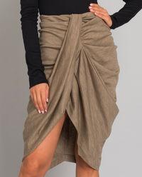 Beżowa spódnica Datisca
