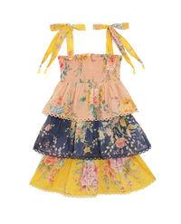 Sukienka w kwiaty Zinnia 4-10 lat