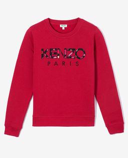 Czerwona bluza Peonies