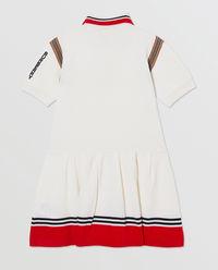 Sukienka polo z dzianiny 3-12 lat