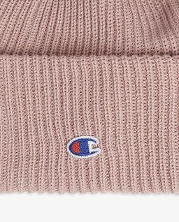 Różowa czapka z wełny