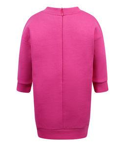 Różowa sukienka dresowa  0-3 lat