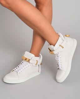Białe sneakersy 100MM