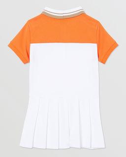Sukienka polo z bawełnianej dzianiny 0-2 lat