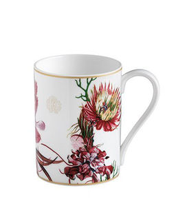 Porcelanowy kubek w kwiaty