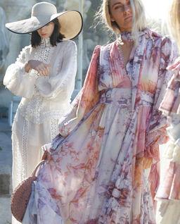 Sukienka Envoke Print Maxi
