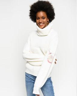 Sweter z golfem Malagasy