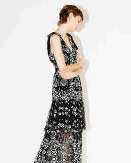 Sukienka midi z cekinami