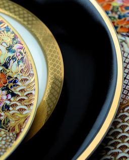 Zestaw 6 talerzy do zupy Python