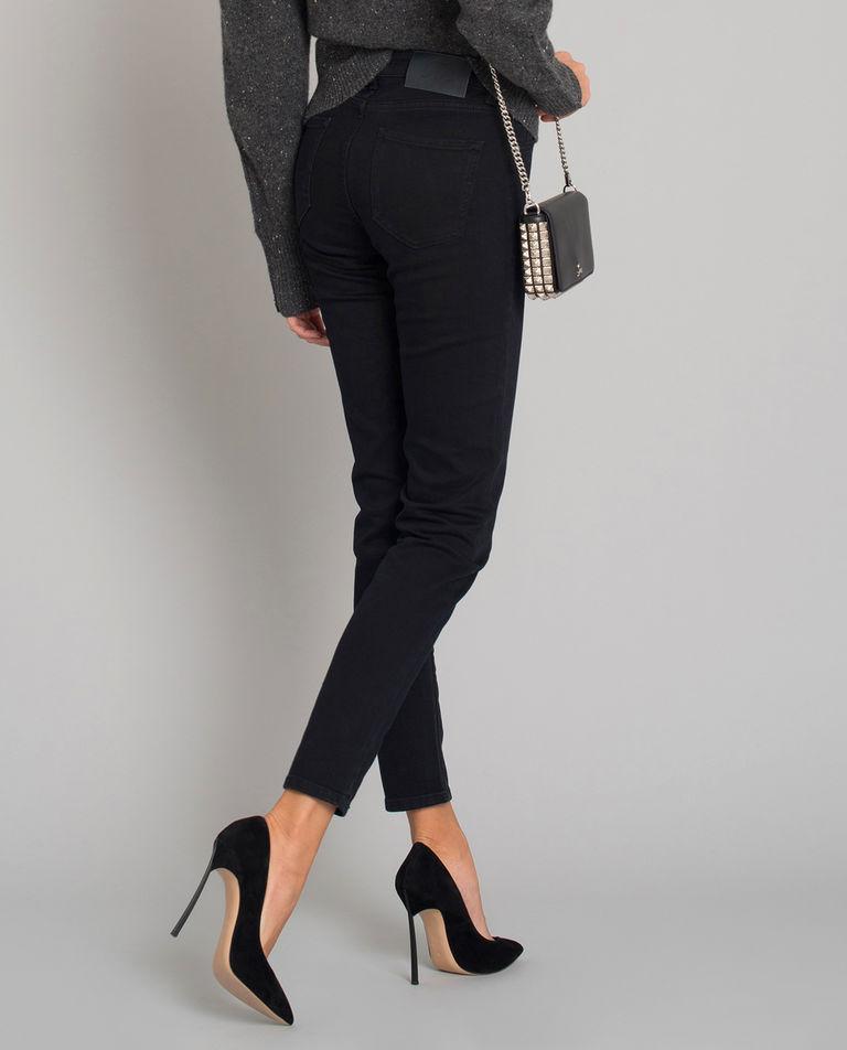 Czarne jeansy