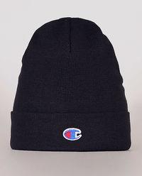 Granatowa czapka z logo