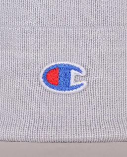 Szara czapka z logo