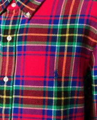 Koszula w kratę z bawełny