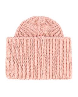 Różowa czapka z logo