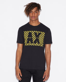 Czarny T-shirt z logo