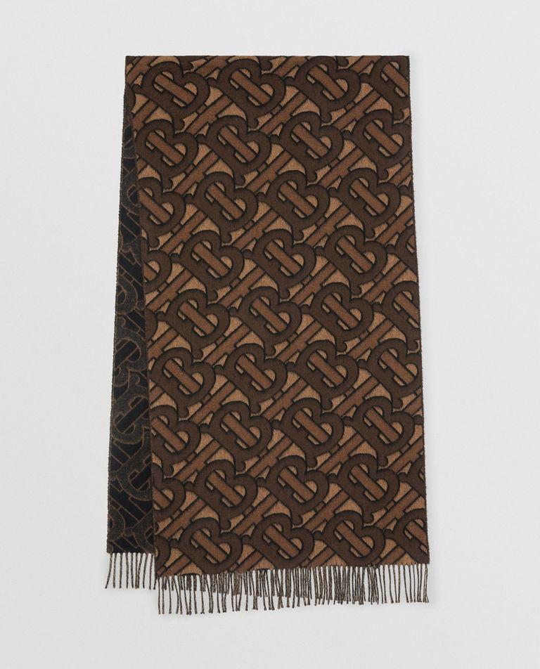 Kaszmirowy szalik z monogramem