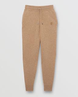 Kaszmirowe spodnie dresowe z monogramem