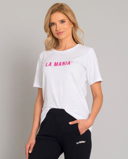 Biały t-shirt Zella