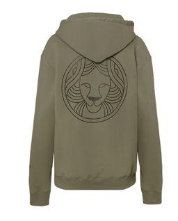 Bluza z logo z kamieni Swarovskiego