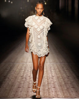 Sukienka z gipiury Zanetti