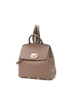 Beżowa torebka-plecak THE STUDIO