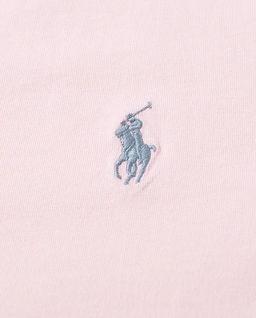 Różowa koszulka Custom Slim Fit