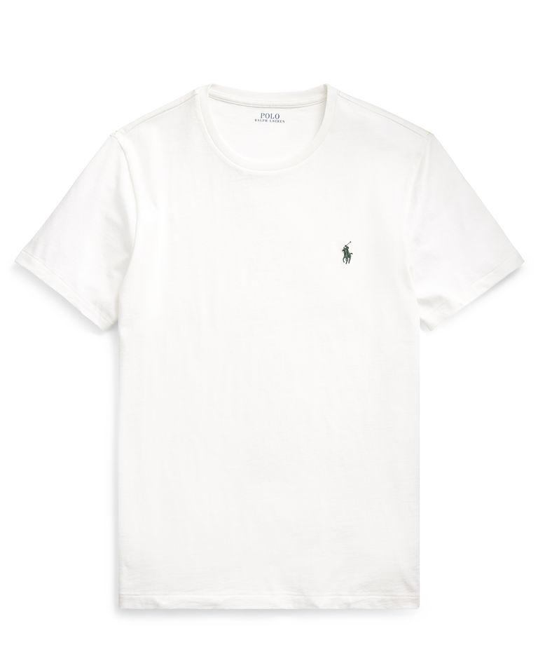 Biały t-shirt Custom Slim Fit
