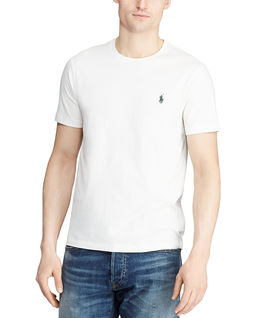 Biały t-shirt Custom Slim Fit