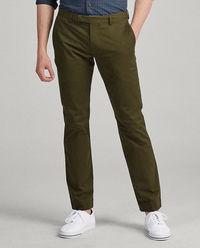 Zielone spodnie Slim Fit