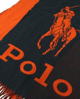 Wełniany szalik z logo