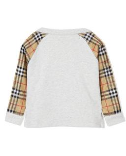 Bawełniana bluza z logo 3-14 lat