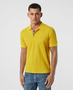 Żółta koszulka polo
