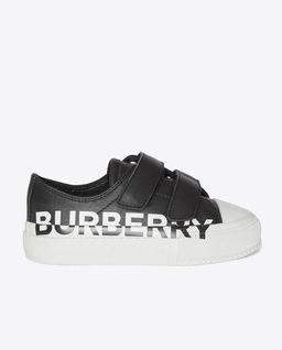 Czarne sneakersy z logo
