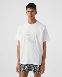 Bawełniana koszulka oversize
