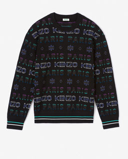 Sweter z logo Holiday Capsule