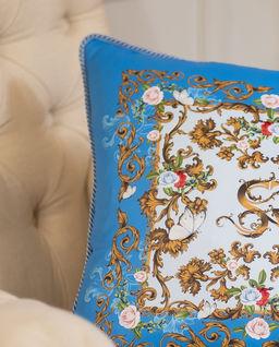 Poduszka z satyny Mykonos