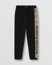 Bawełniane spodnie dresowe