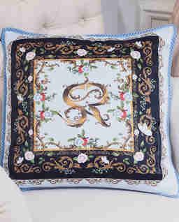 Poduszka z satyny Andora