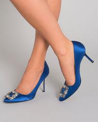 Niebieskie szpilki Hangisi 9 cm