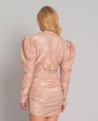 Różowa sukienka Rio