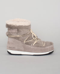 Szare śniegowce Moon Boot X Yves Salomon