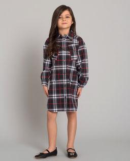 Sukienka w kratę 4-12 lat