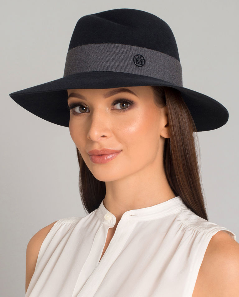 Szary kapelusz Virginie