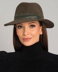 Zelený klobouk Derek