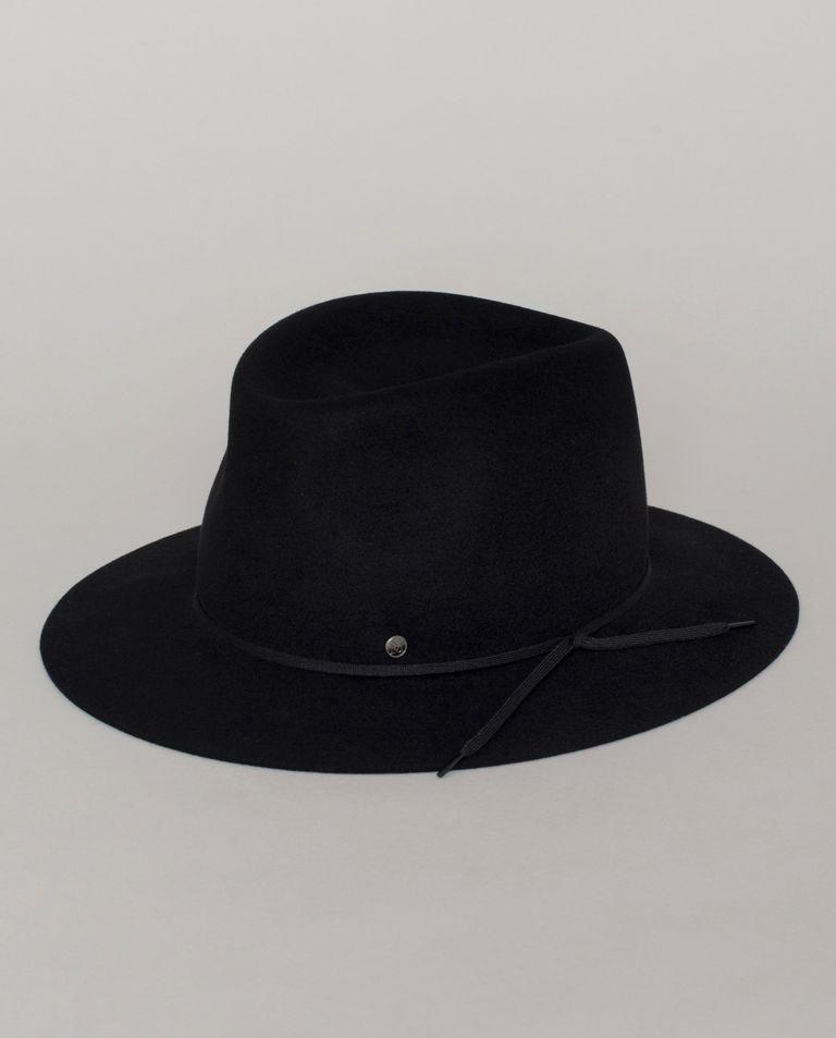 Czarny kapelusz Andre